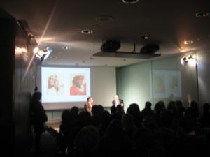 Chip Kidd + Milton Glaser at Cooper Hewitt