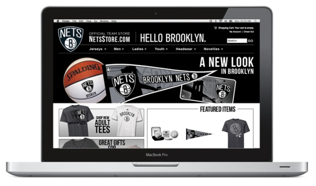 Brooklyn Net's Store Website