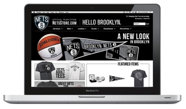 Brooklyn Net's Store Website