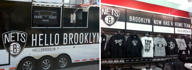 Brooklyn Nets Environments