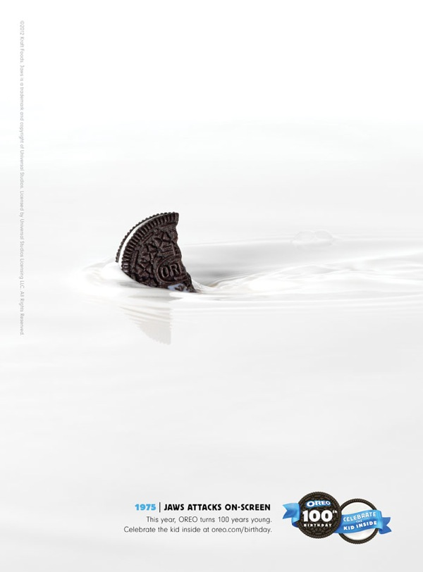 Oreo Ad Jaws Attack