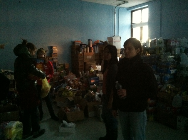 57th st donation center in the Rockaways, Queens, NYC