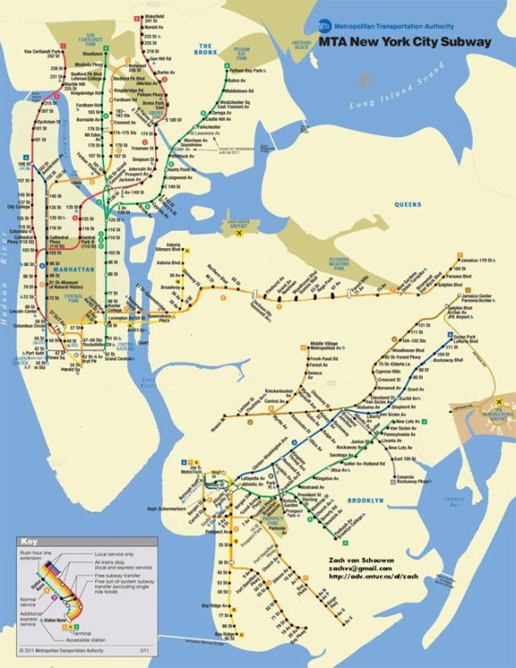 October 30th available NYC Subways via Gothomist.com