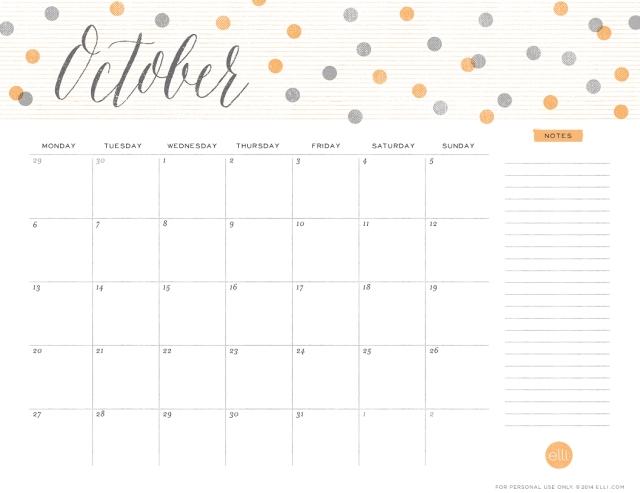 Cute-October-2014-Calendar-dots