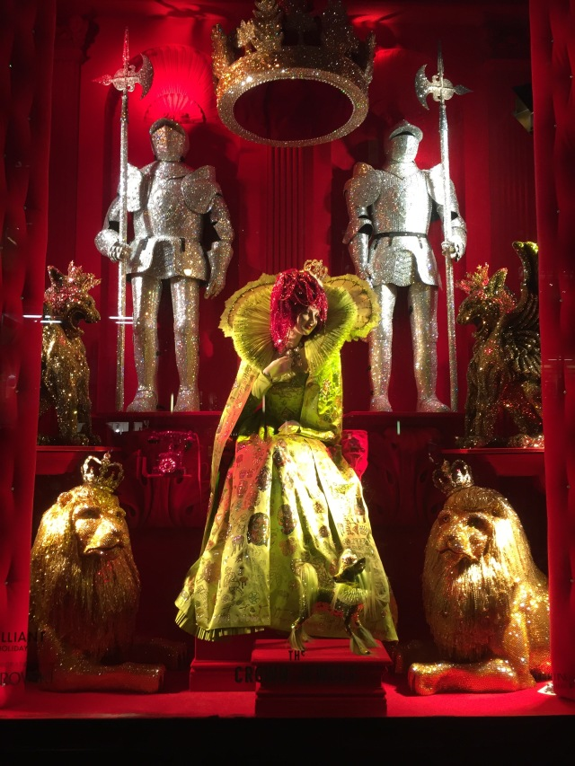 Bergdorf Goodman Windows 2015