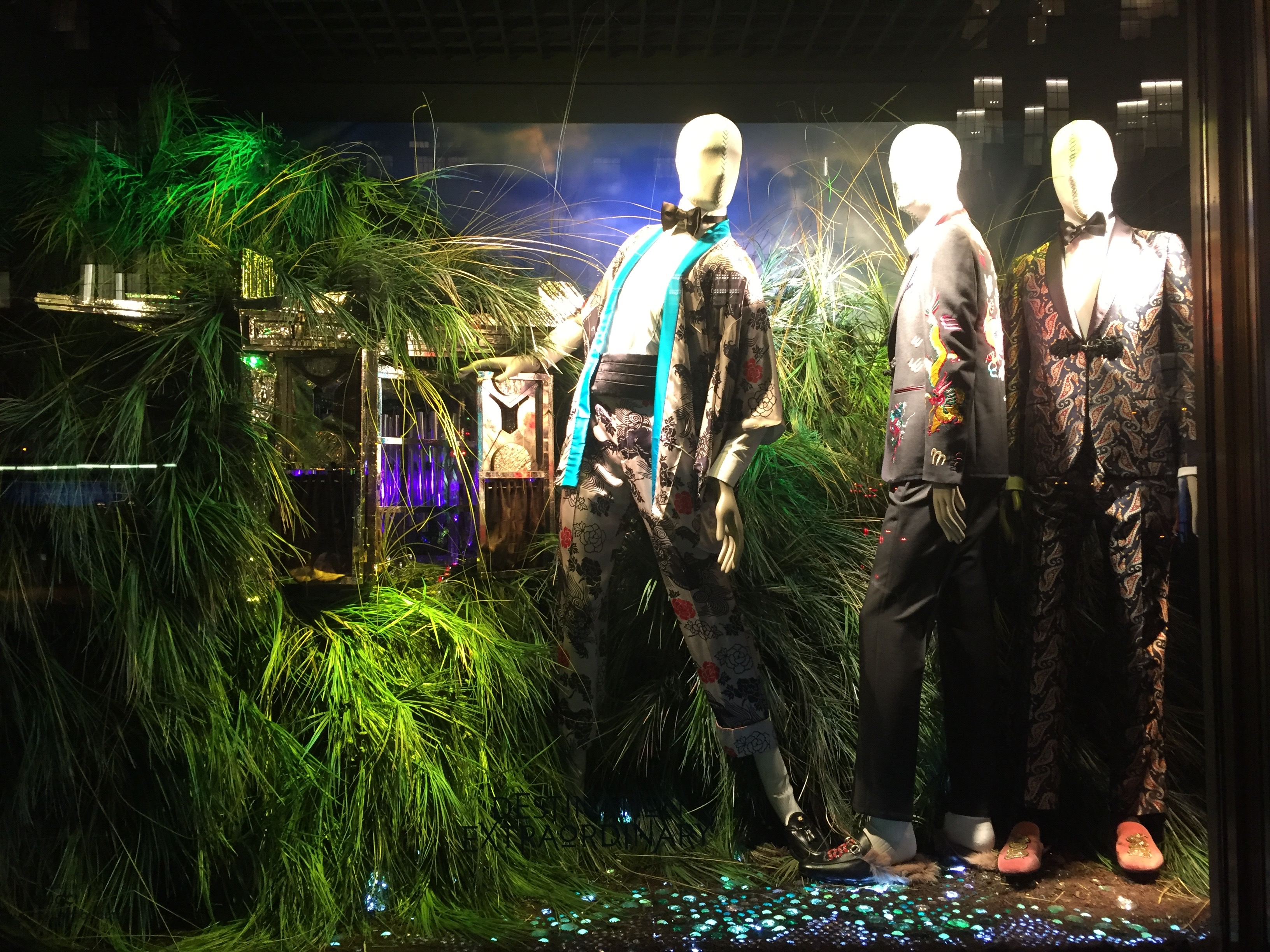 Bergdorf Goodman Holiday Windows 2016 Destination Extraordinary