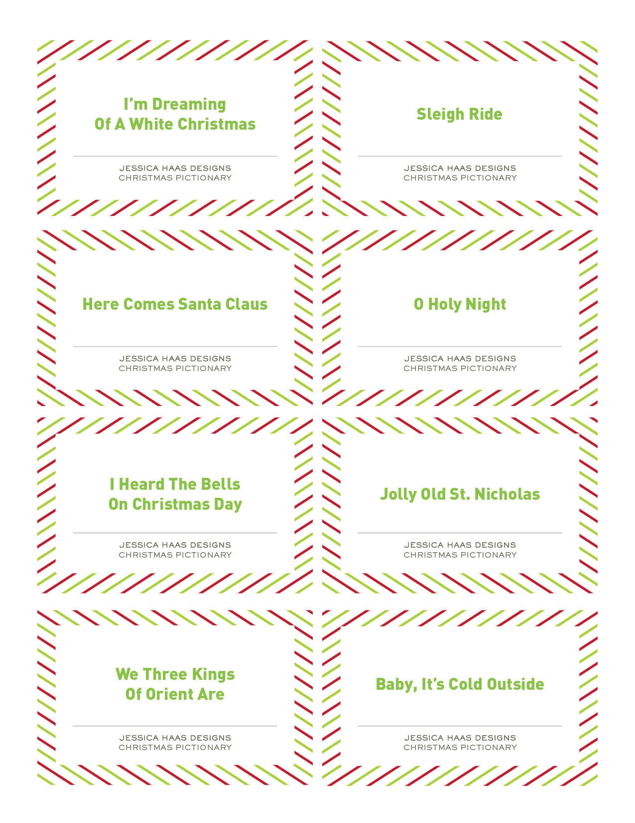 Christmas Pictionary.Free Christmas Pictionary Game